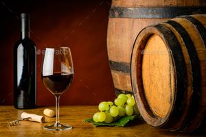 Вино каберне в бочке